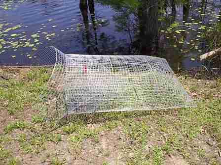 Homemade bait fish trap car interior design for Bait fish trap